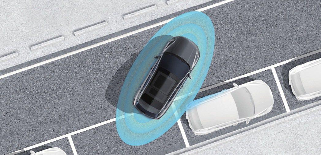 Ford原廠開發360°環景影像行車輔助系統。 圖/福特六和提供
