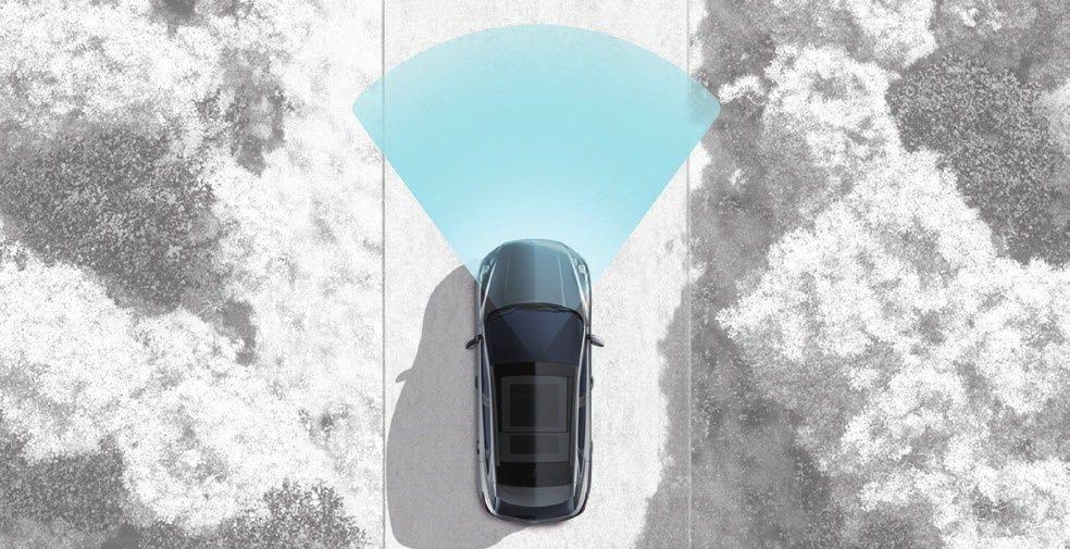 RED 道路邊緣偵測系統。 圖/福特六和提供