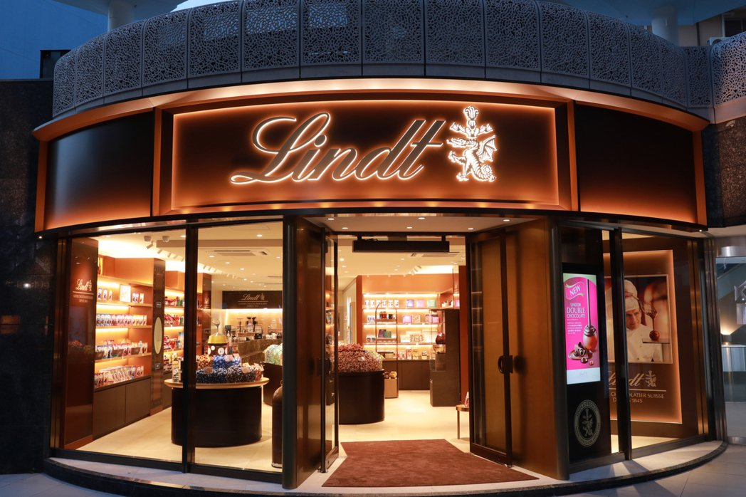 Lindt Chocolat Boutique & Café 結合百年歷史與現代...