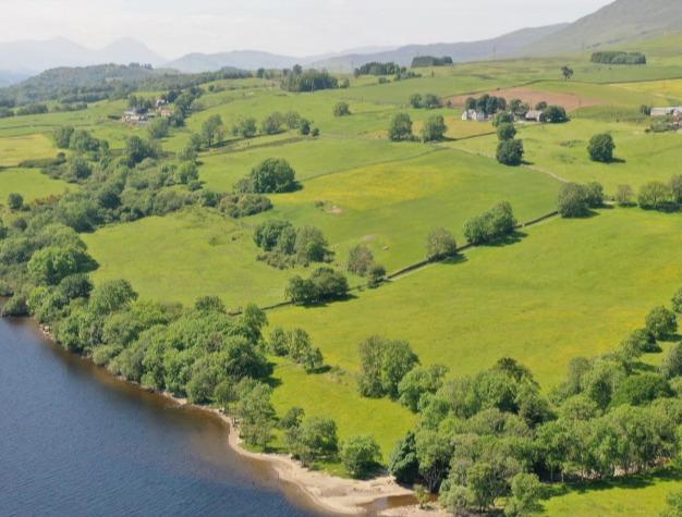 蘇格蘭「鬧鬼村」占地4000多坪。圖/取自goldcrestlfg