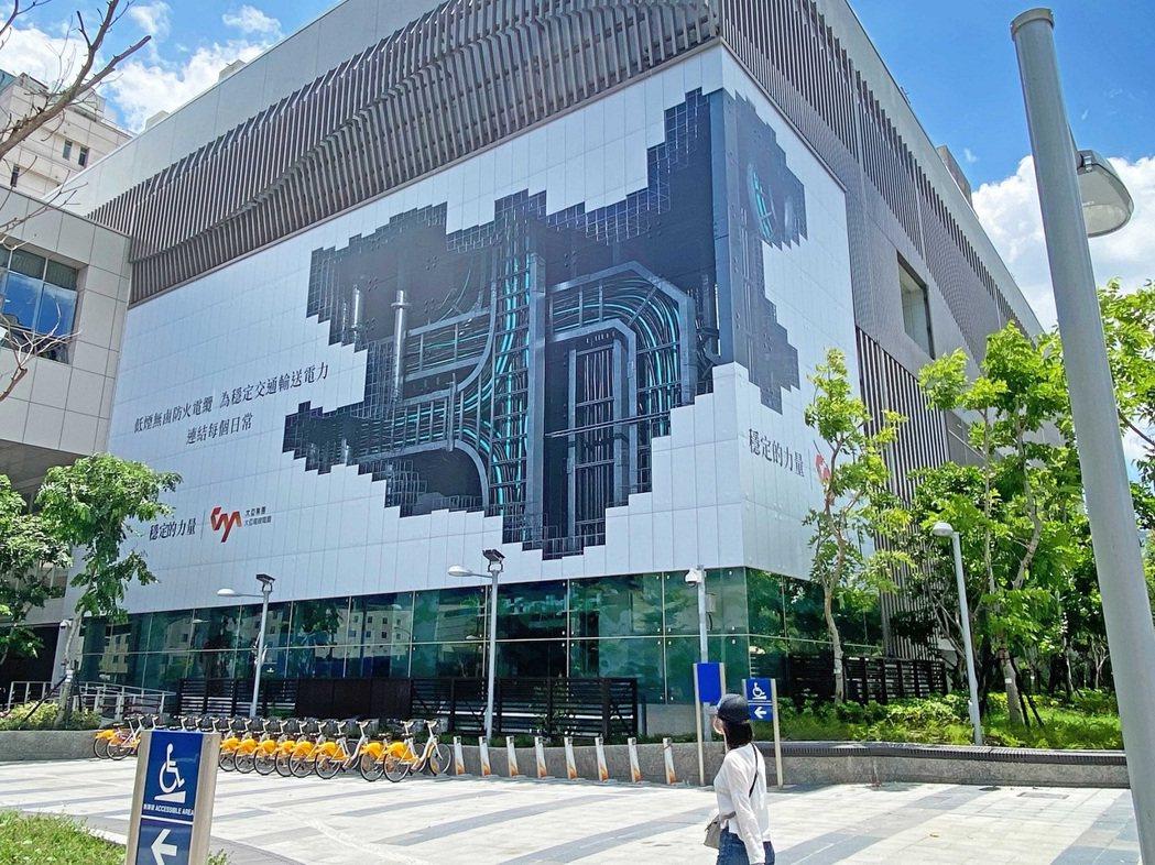 台中捷運市政府站-3D城市平面上刊實景照。大亞/提供