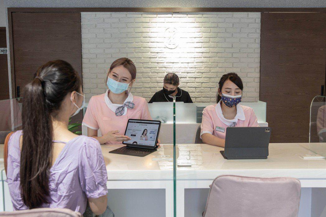 星醫美學集團積極佈局大健康領域,在疫情期間特別開立智能健康美容門市。星醫美學/提...