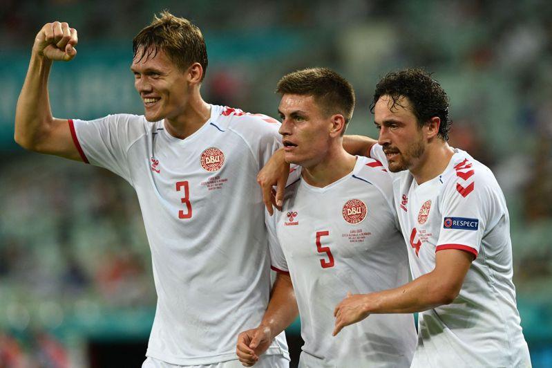 丹麥爆冷淘汰捷克晉級,4強賽將與勁旅英格蘭爭奪決賽門票。 法新社