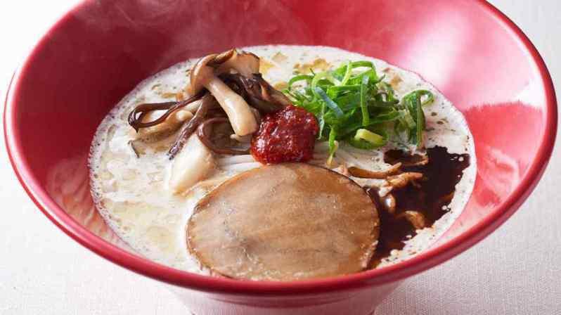 一風堂今年2月在日本推出期間限定的「純素」豚骨拉麵,獲得廣大迴響。網路照片