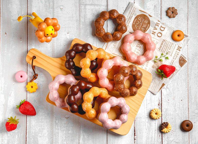 Mister Donut推出買10送10的限時優惠。圖/Mister Donut提供