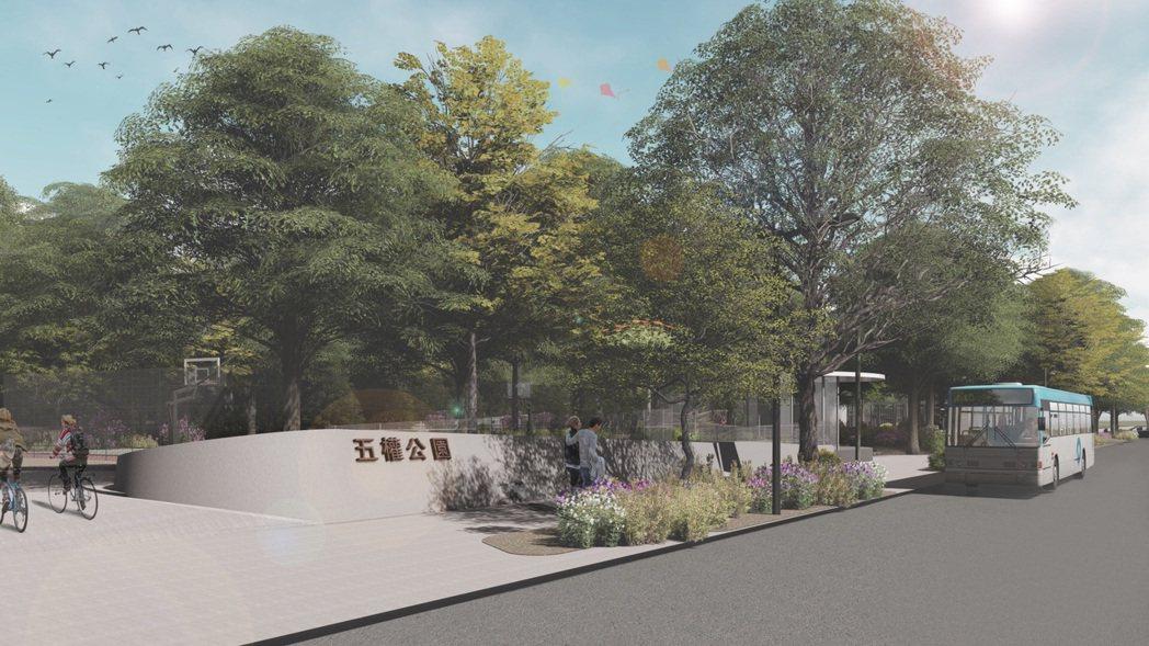 五權地下停車場明年8月完工,預計可大幅紓解地方停車問題。圖/新北市交通局提供