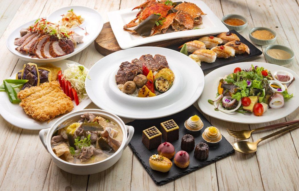 漢來海港因應疫情祭出餐券彈性優惠方案,下殺44折。 (照片提供:漢來美食)
