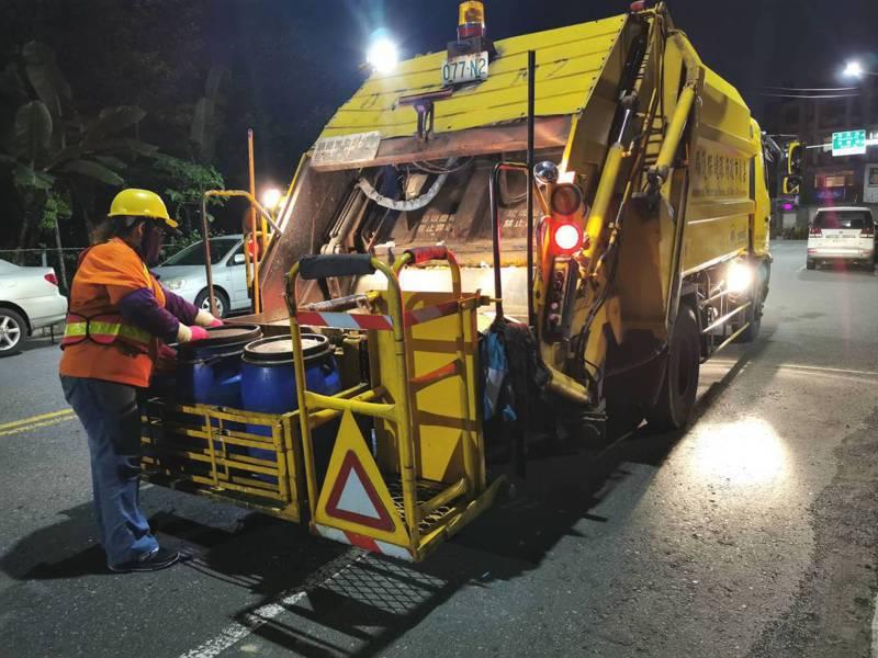 嘉義市垃圾焚化廠本月歲修,市府呼籲市民做好垃圾分類、垃圾減量。記者卜敏正/攝影