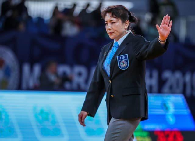 國際柔道總會(IJF)最新國際裁判排名前10、有3名女性,第一名是蒙古籍的女裁判,天野第九。圖/取自國際柔道總會(IJF)官網