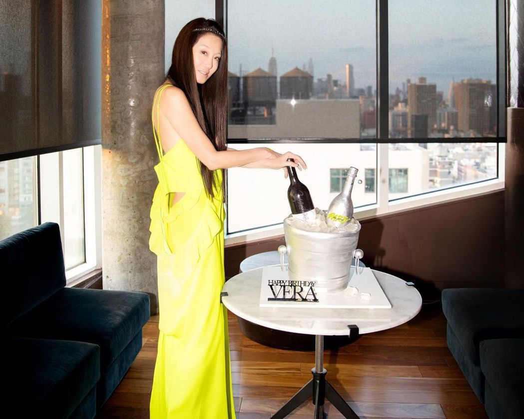 Vera Wang。 圖/擷自Vera Wang IG