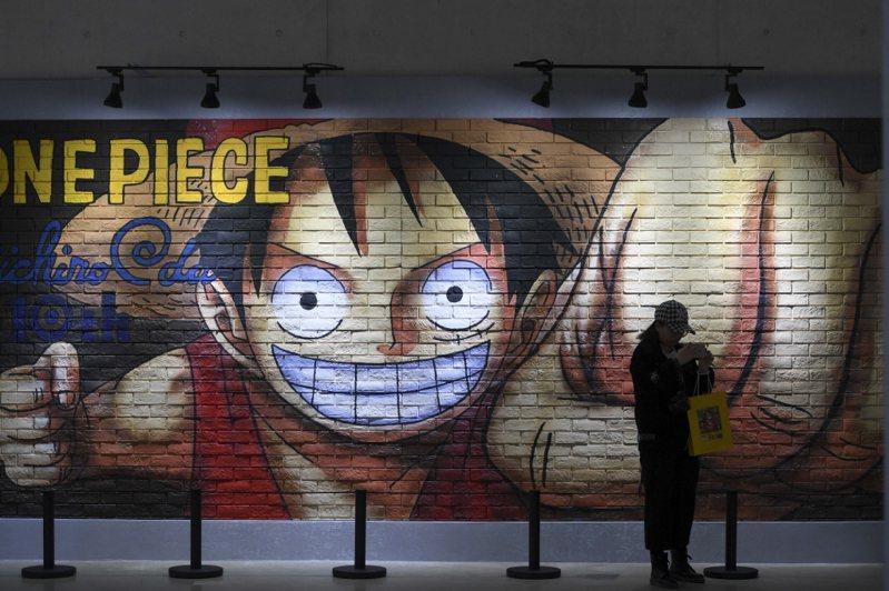 「航海王」風靡全球,圖為中國大陸長沙的航海王官方漫畫大展。 圖/中新社