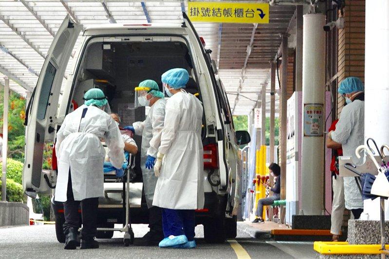 圖為救護車示意圖,非新聞當事人。圖/聯合報系資料照片