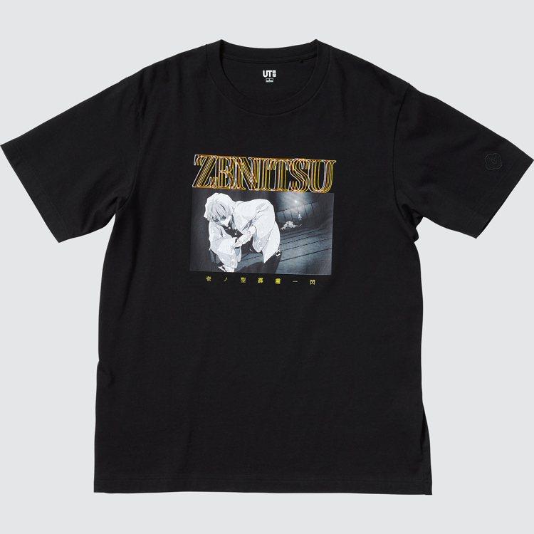 UNIQLO UT鬼滅之刃系列男裝T恤590元。圖/UNIQLO提供