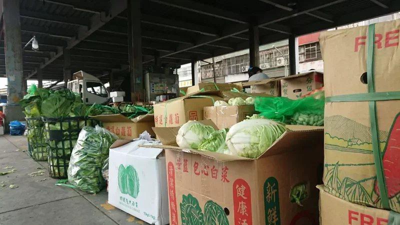 菜價會根據季節及天氣變動。 記者簡慧珍/攝影