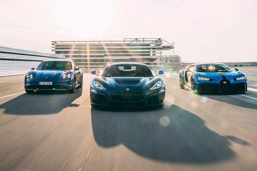 保時捷與Rimac將共同成立一間合併Bugatti的合資企業,並宣告此超跑製造商...