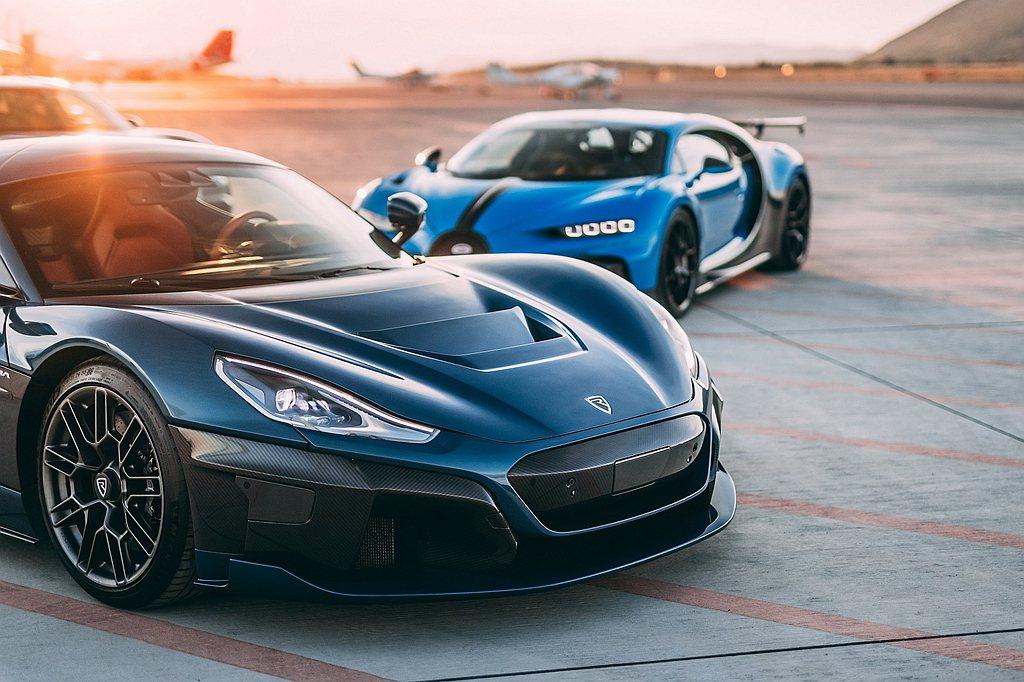 新公司正式成立後Bugatti與Rimac首先計畫生產兩種超跑車型:Bugatt...