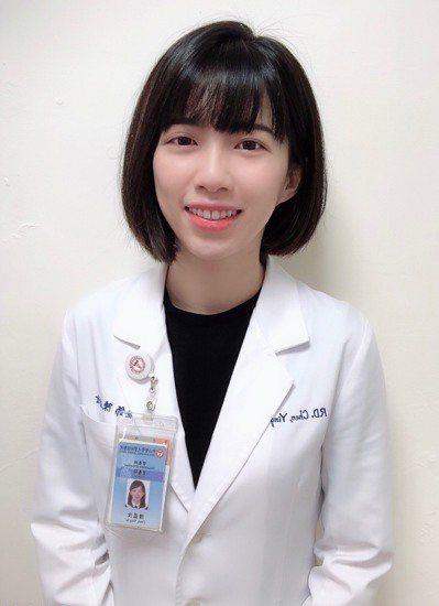 圖╱中山醫學大學附設醫院營養師陳盈汝。