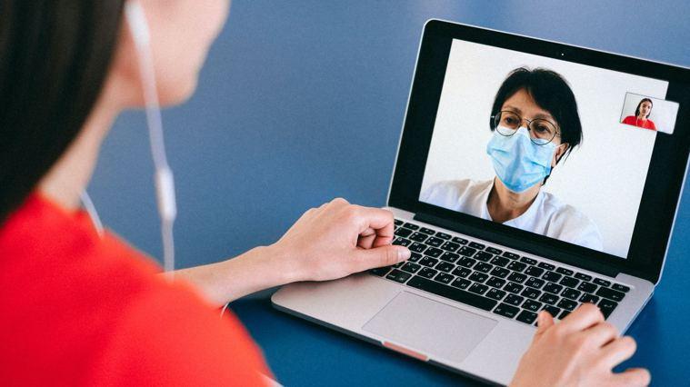 元氣網推出遠距線上諮詢服務,民眾透過視訊可與專家一對一諮詢健康問題。/圖片來源:...