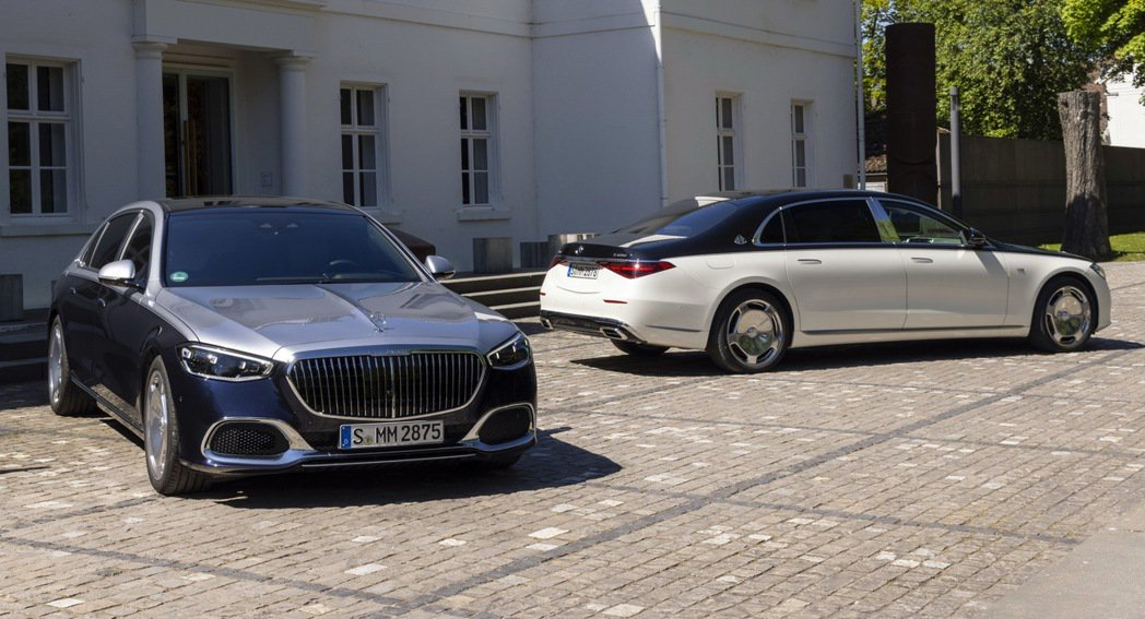 Mercedes S-Class Maybach。 摘自Mercedes
