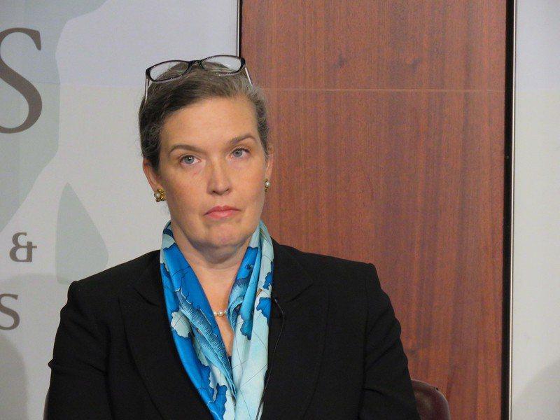 國務院亞太副助卿孫曉雅(Sandra Oudkirk)將接替酈英傑(Brent Christensen)成為新任台北辦事處處長。(本報資料照片)