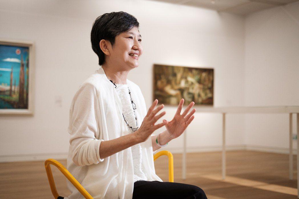 李玉玲為高美館找到「大南方」的新定位。記者沈昱嘉/攝影