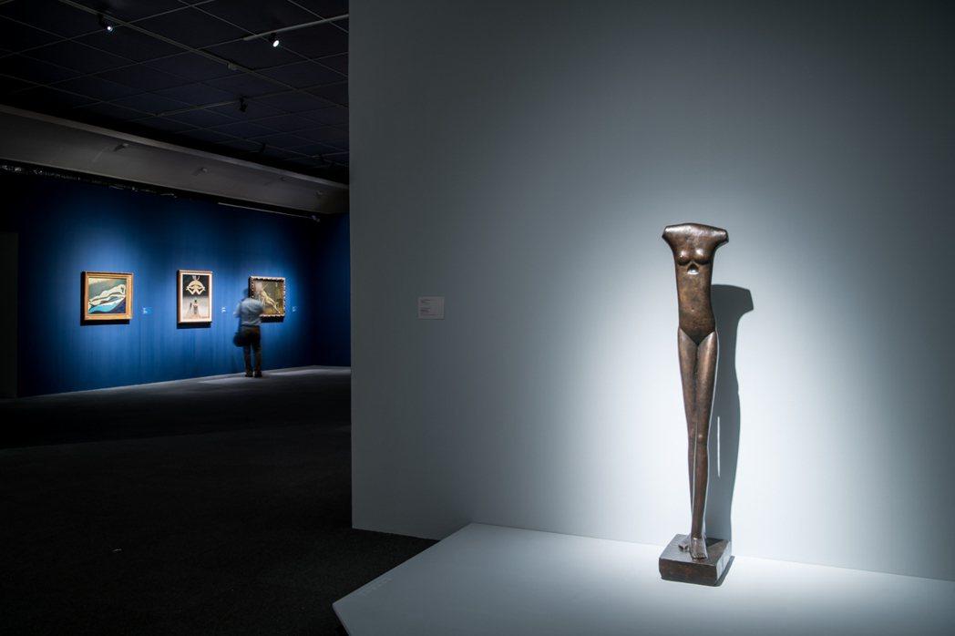 高美館與倫敦泰德現代合作「裸」特展。圖/高美館提供