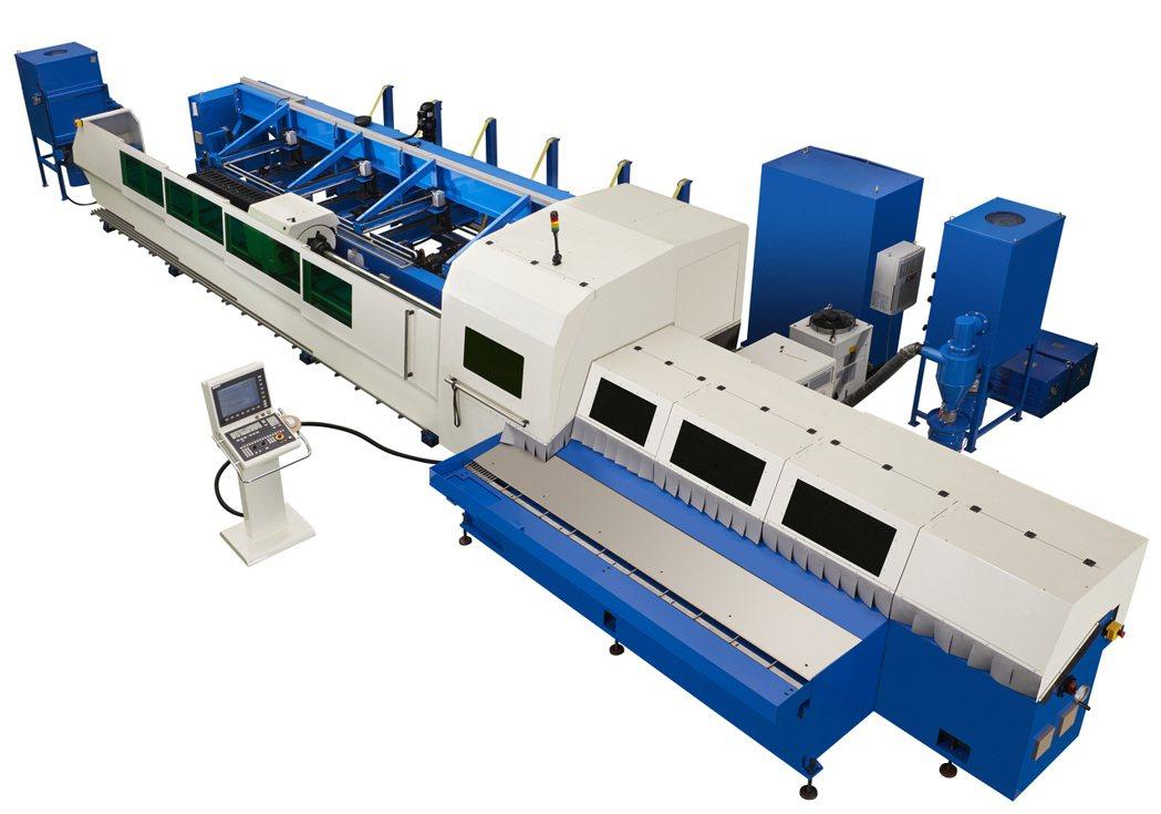 和和機械是全球第一家切入3D光纖雷射切管機的專業製造廠。 和和機械公司/提供