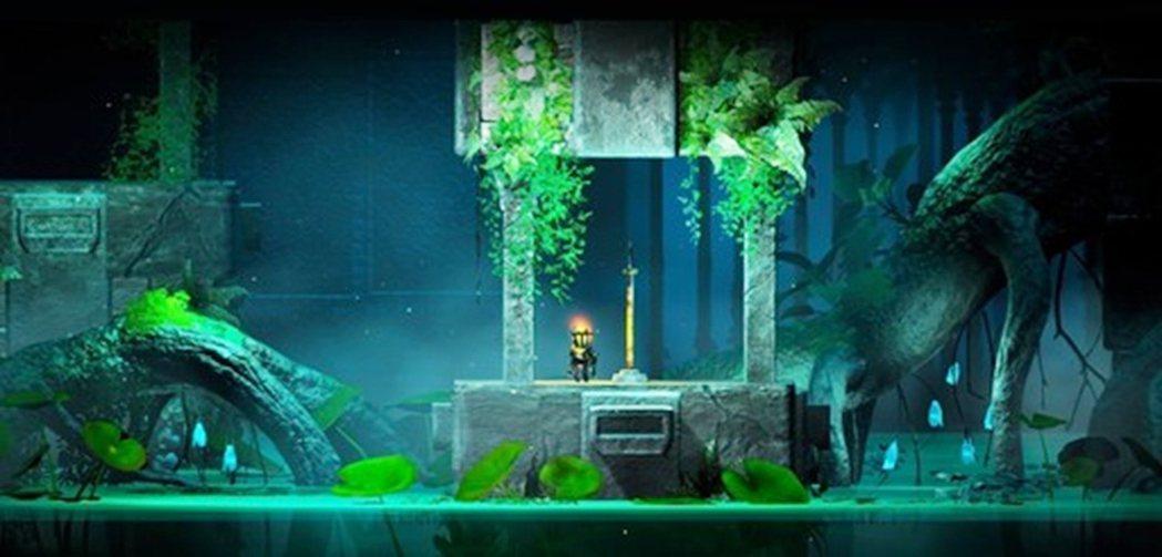 「REVERSE 永恆之火」實際遊戲畫面。 校方/提供