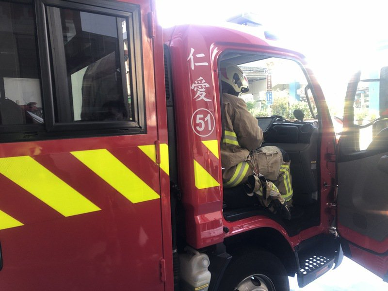 打火按圖索驥不用盲人摸象,基隆救災公共雲搶黃金時間。圖/基隆市消防局提供
