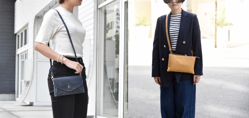 日本TIDY植鞣3Way隨行皮革包一次推出兩款設計,可因應各種場合需求變換3種背法。 圖/聯合數位文創提供