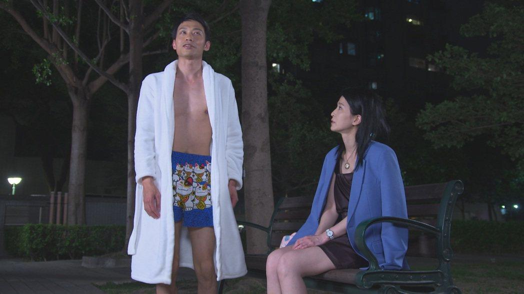 「黃金歲月」戲中,初來乍到的楚宣(右)與溫室公子張哲豪,會蹦出什麼樣的火花。圖/...