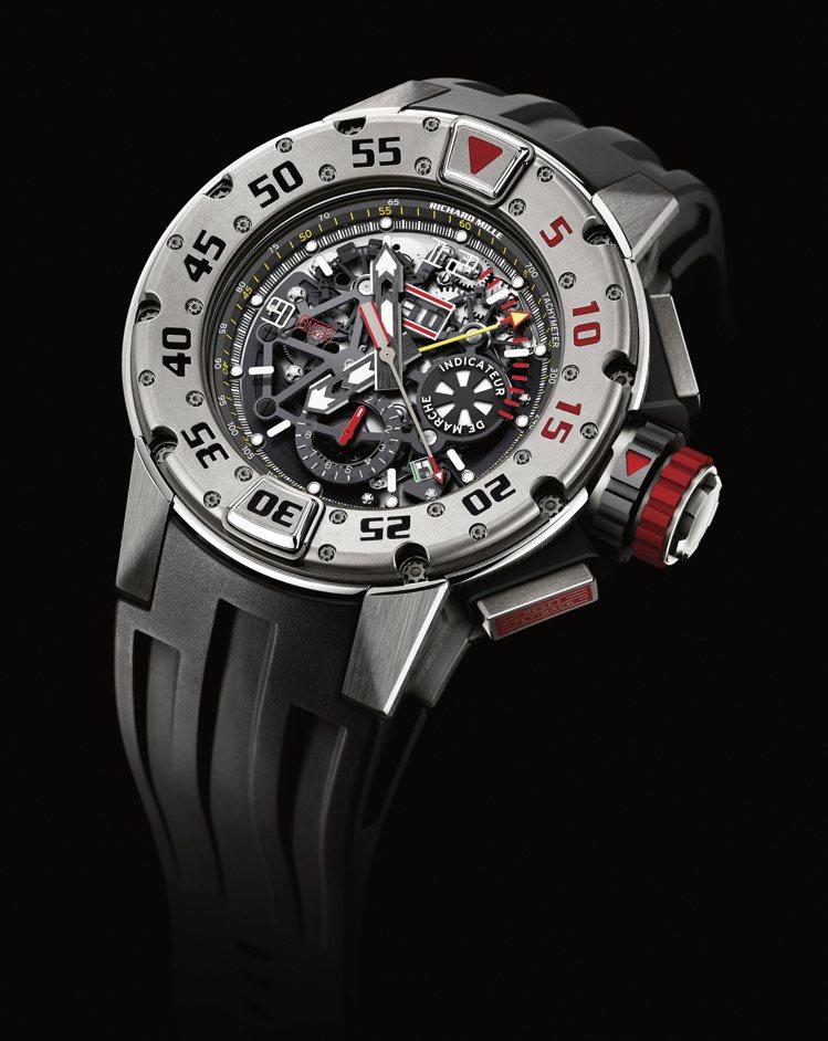 RICHARD MILLE RM 032腕表,鈦合金材質,約523萬元。圖 / ...