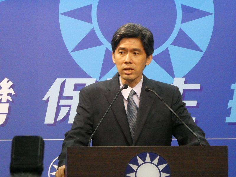 國民黨大陸事務部主任左正東。本報資料照片