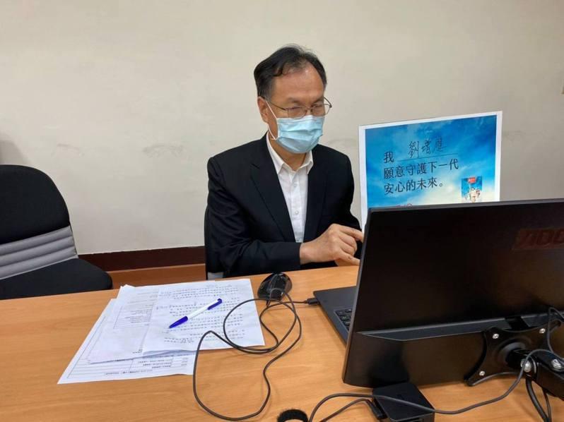 連江縣長劉增應認為預約疫苗系統還在測試中,有問題可再調整、討論。圖/取自劉增應臉書