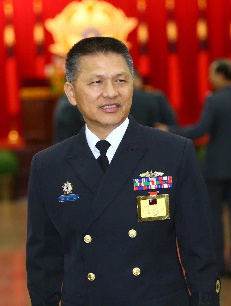 海軍艦隊指揮部指揮官高嘉濱一個月前提出退伍報告,無心繼續在海軍發展。記者陳柏亨/攝影