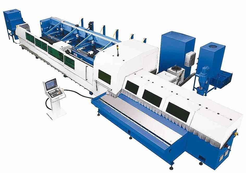 和和機械是全球第一家切入3D光纖雷射切管機的專業製造廠。和和機械公司/提供
