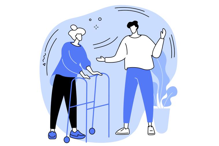 長者日常生活的種種,都可以透過職能治療師這樣的專業來協助改善,例如行走、進食,洗...