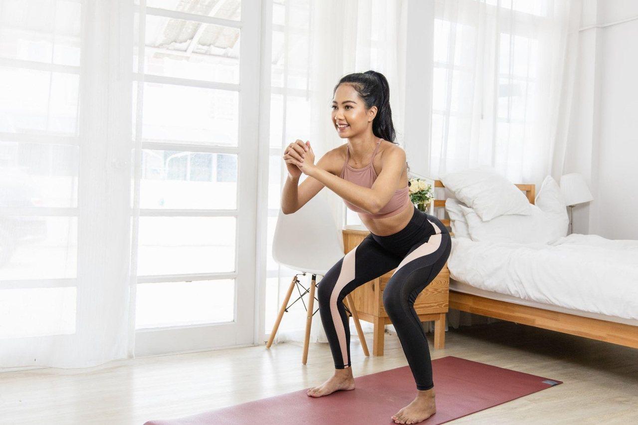 居家運動應多注意運動後的防護,維持靈活行動力。  圖/Shutterstock...