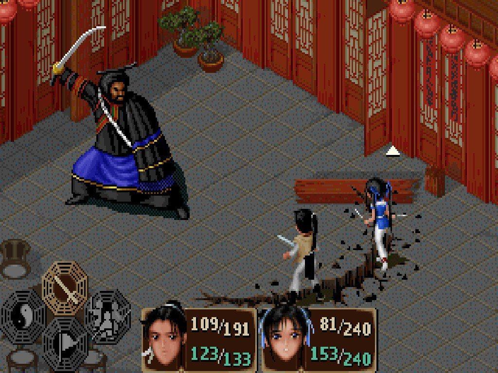 以 45 度視角呈現的遊戲在當時並不多見。