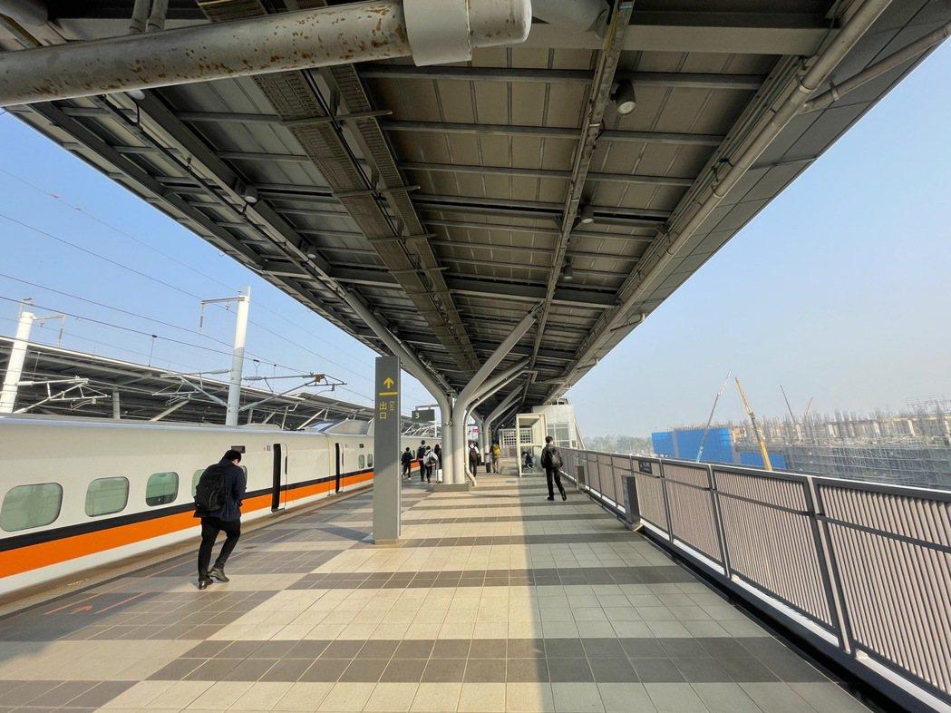 台南高鐵特區挾高鐵、台鐵之交通優勢,前景備受矚目。(圖/本報資料照)
