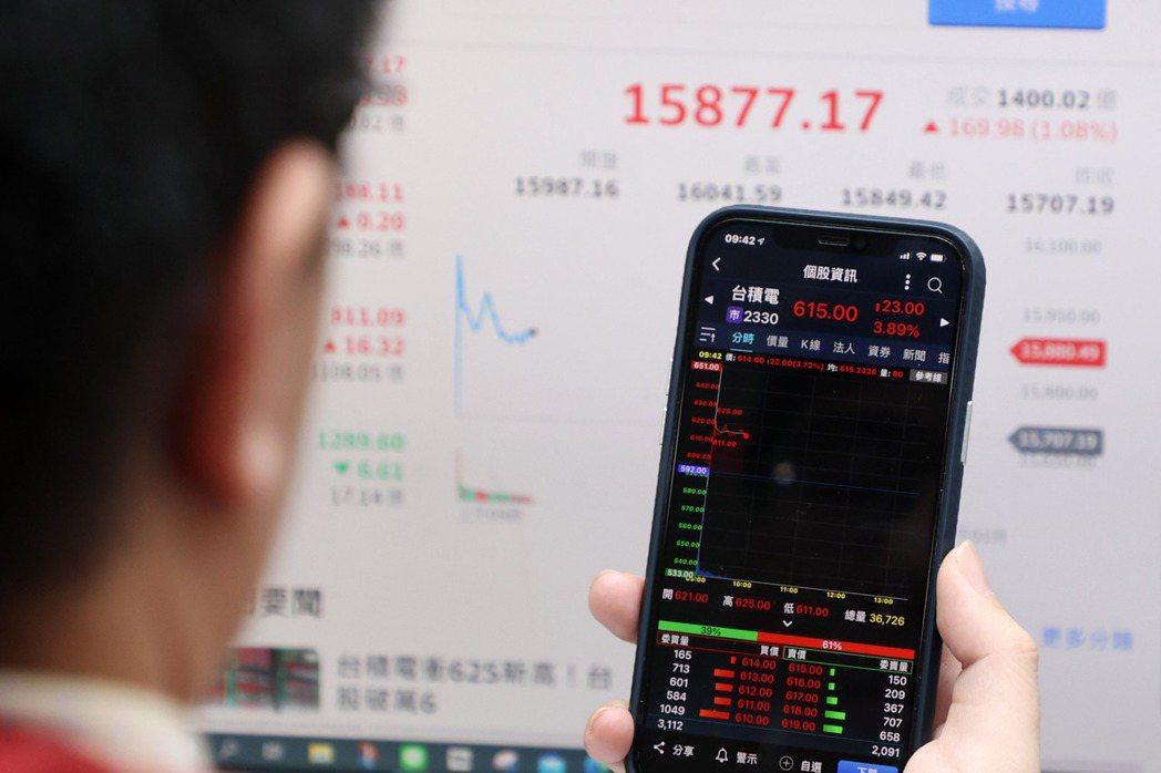 台灣經濟的護國神山台積電,將遭遇產業循環的走山土石流、會對台灣經濟帶來什麼樣的衝擊?示意圖。 圖/聯合報系資料照