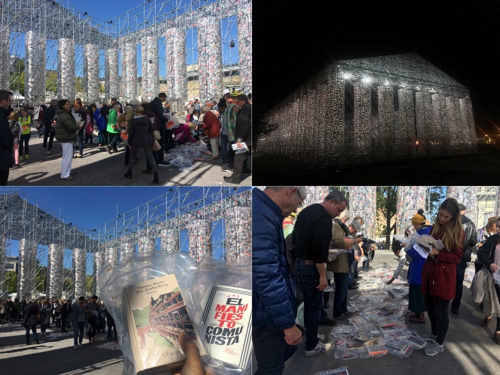 展覽倒數的日子,每個參觀民眾可帶走兩本曾為禁書的書籍,重新展開自由的傳播與流通。...