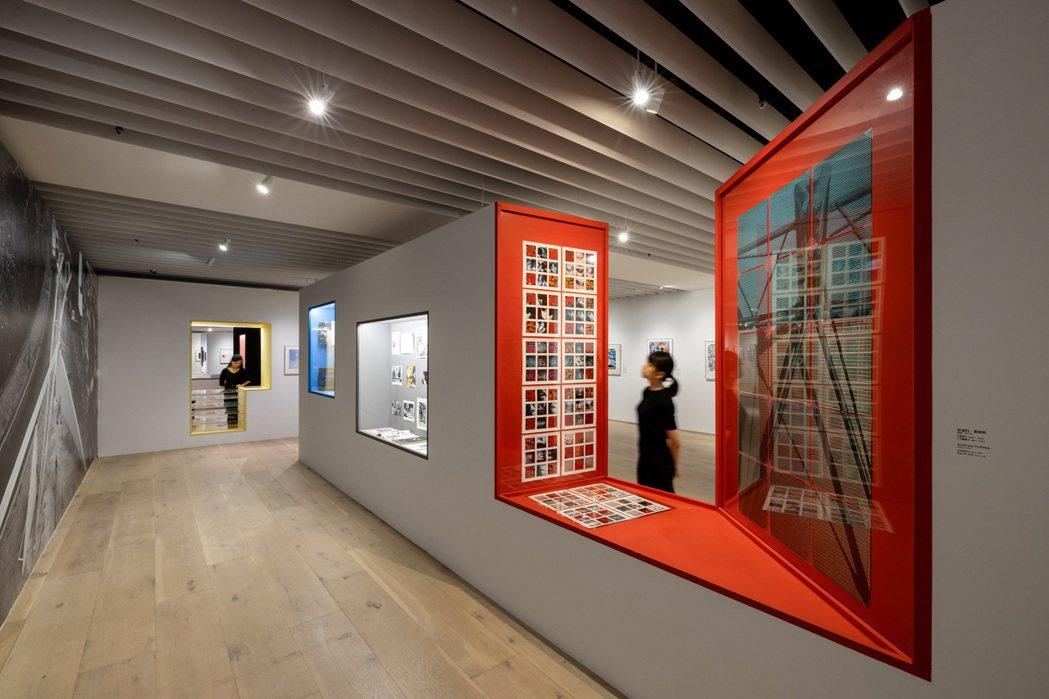 《聚變:AA倫敦建築聯盟的前銳時代》展覽現場。 圖/忠泰美術館提供