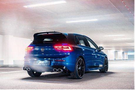 ABT手腳超快 推出最新Volkswagen Golf R的大馬力升級套件!