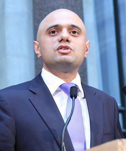 英國衛生大臣賈偉德6日向議會宣布解封計畫。(photo by Foreign and Commonwealth Office on Wikimedia under CC2.0)