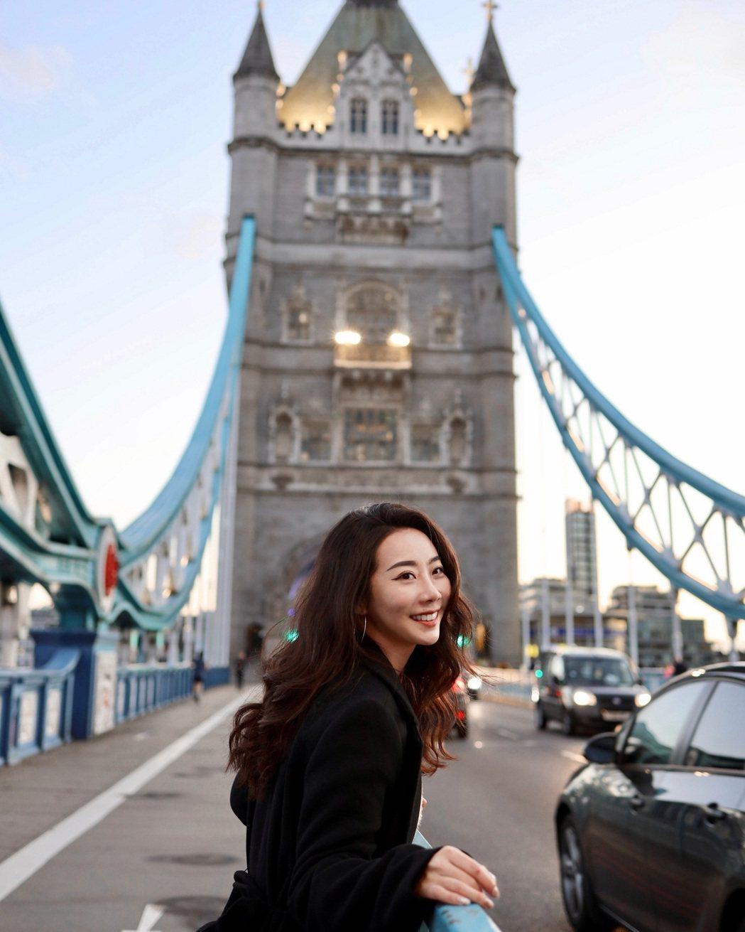 徐世珍遠赴英國留學卻遇上疫情封城。圖/東森提供