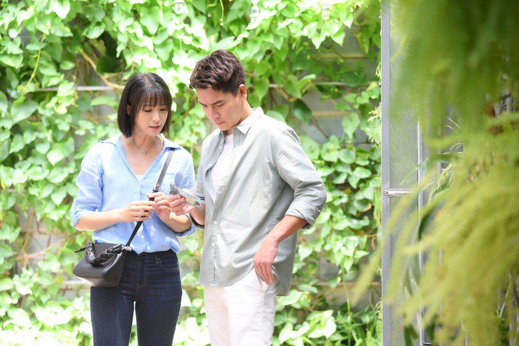 王傳一和賴雅妍拍感情戲默契十足。圖/三立提供