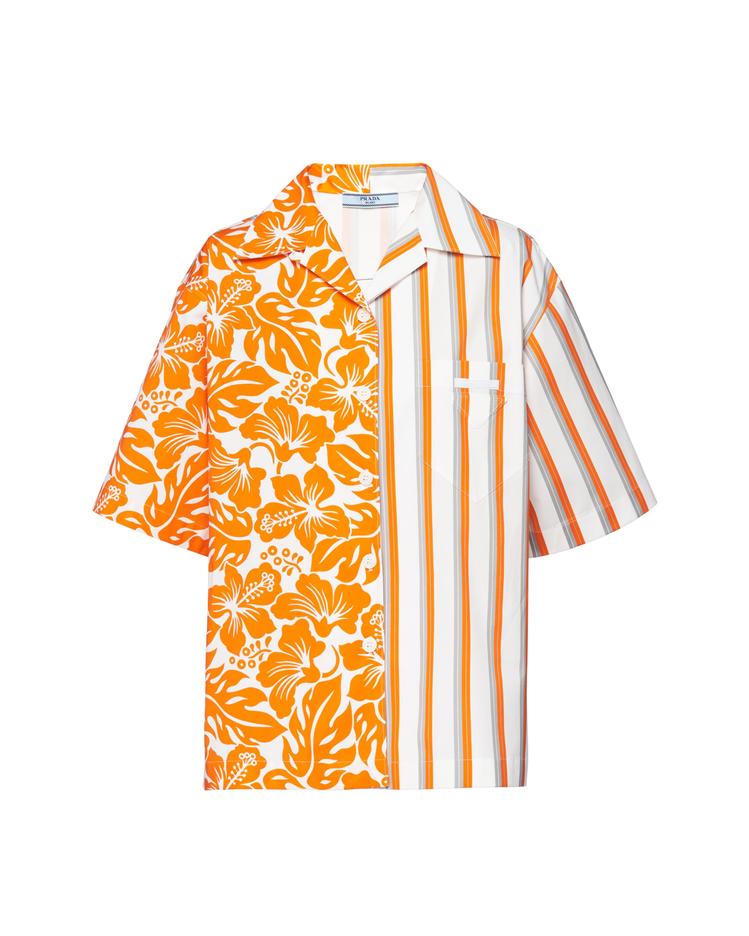 Double Match古巴領襯衫,38,500元。圖/PRADA提供