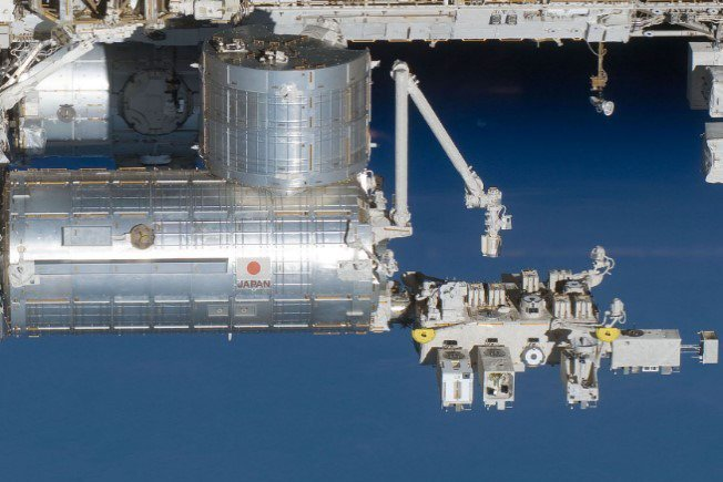 台灣種子搭乘Kibo太空艙上太空。 圖/國家太空中心提供