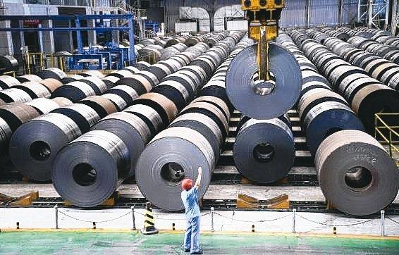 韓國對台灣的威脅主要是鋼鐵類產品。(本報系資料庫)